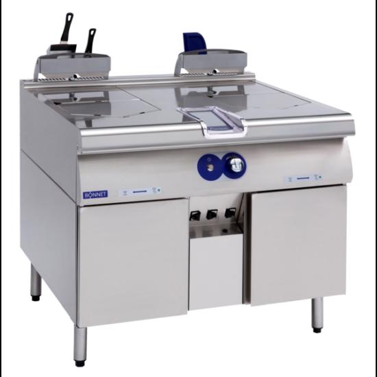 PRECIPAN 151L-es nyomás alatti multifunkciós sütő-főző berendezés
