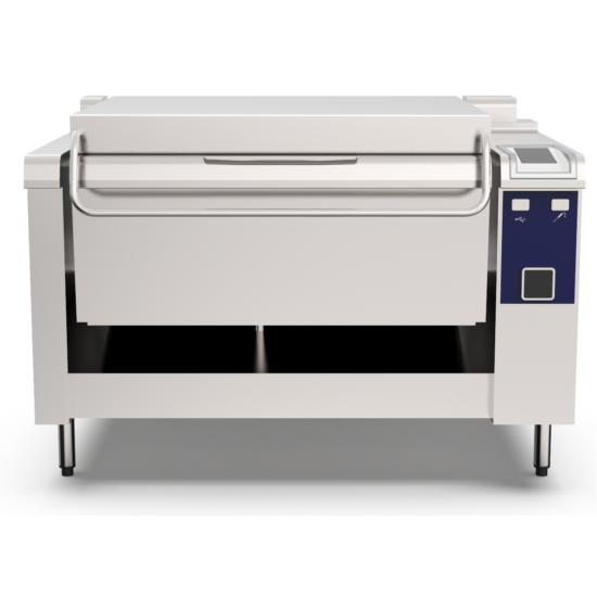 PRECIPAN 105L-es nyomás alatti multifunkciós sütő-főző berendezés
