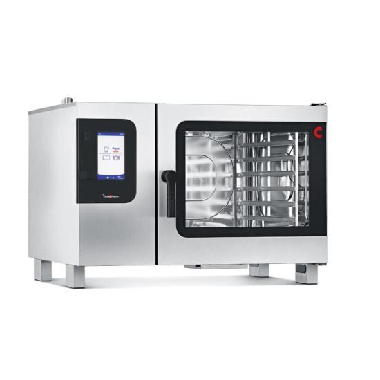 Professzionális elektromos kombinált gőzpároló-regeneráló-konvekciós sütő