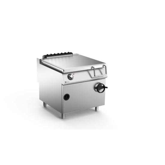 Rozsdamentes modul gázüzemű billenő pirító serpenyő