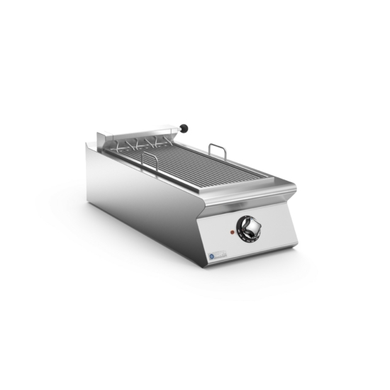Rozsdamentes modul elektromos grill felső elem