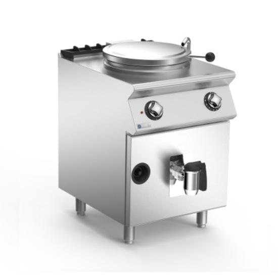 Rozsdamentes modul gázüzemű főzőüst