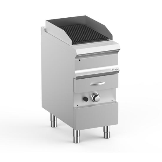 Gázüzemű aqua grill
